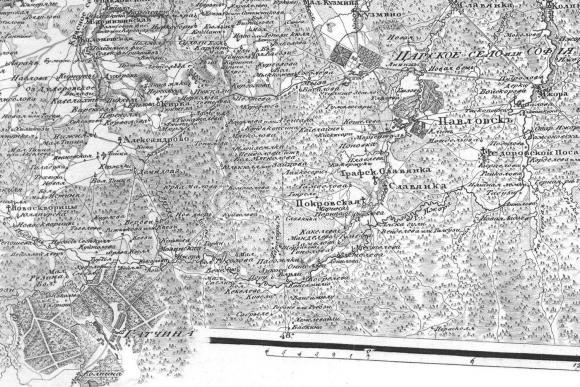 1810 - Семитопографическая карта
