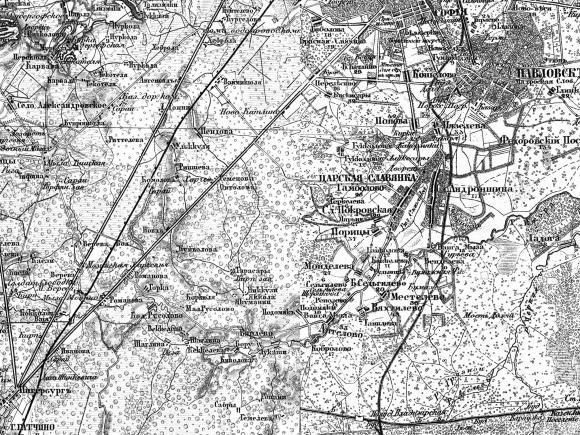 1863 - Военно-топографическая карта России