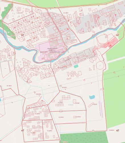 2017 - Публичная кадастровая карта, схема