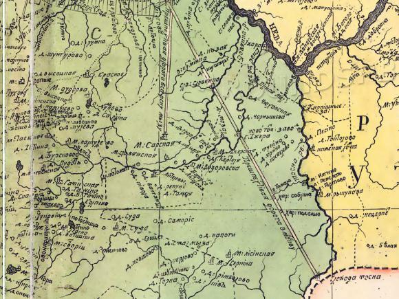 1727 - Карта Ингерманландии