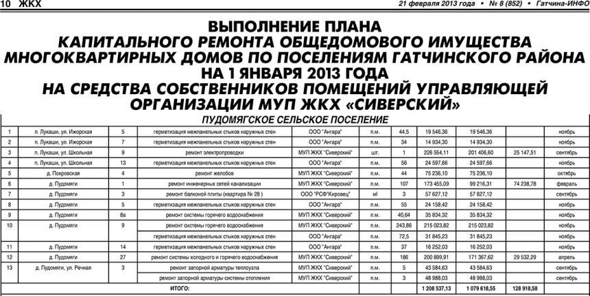 Гатчина-ИНФО №08 от 21 февраля 2013 года